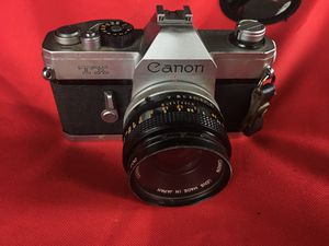 Canon film camera for Sale in Pasadena, TX