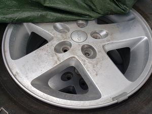 Jeep wrangler wheels and tires for Sale in Salt Lake City, UT