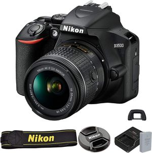 Nikon D3500, Lenses, Camera, Flash, bundle for Sale in Bakersfield, CA