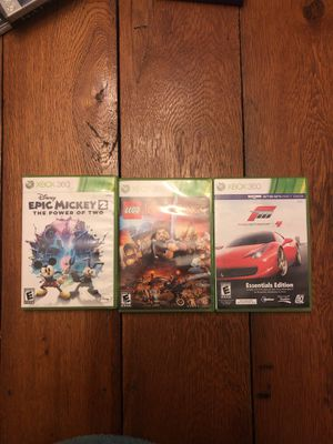 Xbox 360 Games for Sale in Farmville, VA