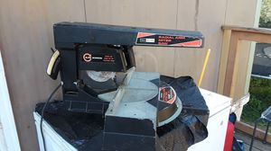 7 1/2 radial arm miter saw and air tools for Sale in Montoursville, PA
