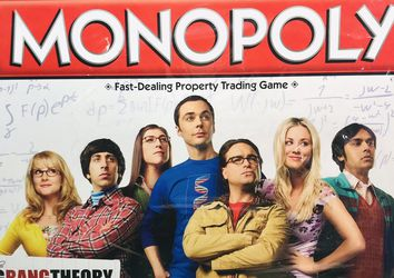 Hasbro Big Bang Theory Monopoly for Sale in Providence,  RI