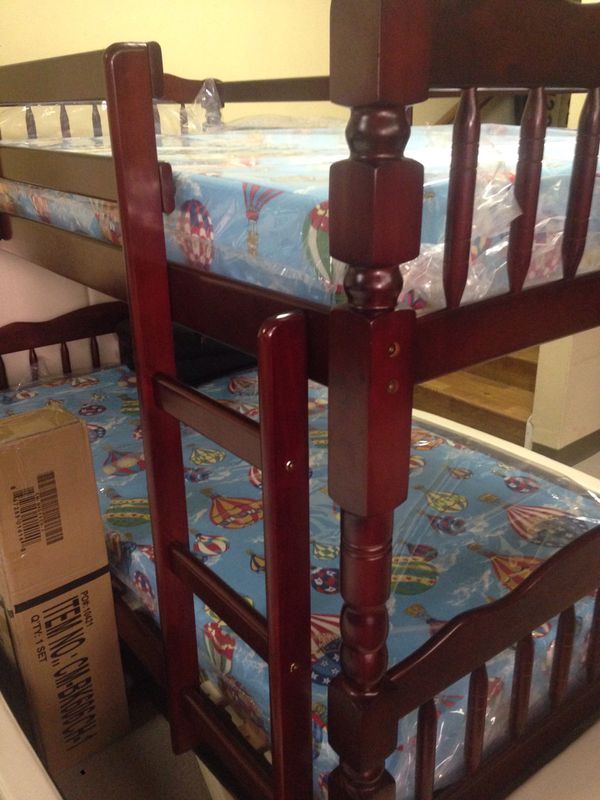 Twin size bunk bed frame
