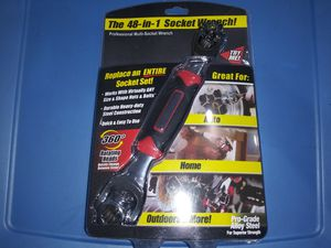New the 48 in 1 socket wrench for Sale in Lemon Grove, CA