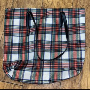 Plaid Christmas Tote Bag for Sale in Palm Beach, FL