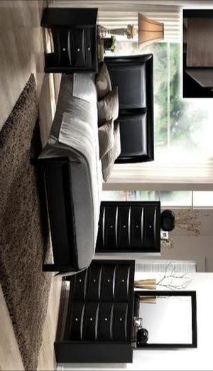Emily Black Panel Bedroom Set |B4280 for Sale in Houston, TX