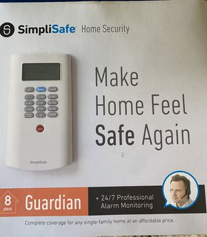 Simplisafe Home Security System for Sale in Dripping Springs, TX