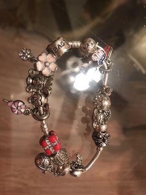 Pandora style bracelet for Sale in Saint CLR SHORES, MI