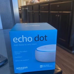 Echo Dot (3rd Gen) - Smart speaker with Alexa -Sandstone for Sale in Germantown, MD