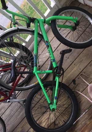 Green alien BMX bike for Sale in Germantown, MD