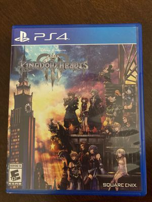 Kingdom Hearts 3 - PS4 for Sale in Waddell, AZ