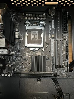MSI Mini Itx MOBO *8th Gen Intel Only* for Sale in Los Angeles,  CA