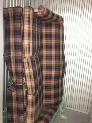 3 cushion plaid sleeper sofa for Sale in Boston, MA