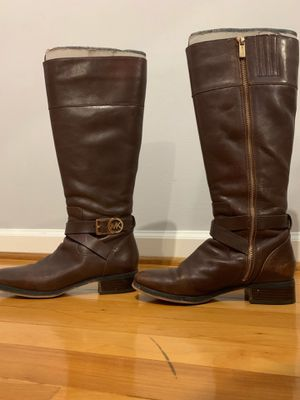 Michael Kors Leather Riding Boots for Sale in Arlington, VA
