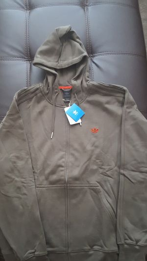 Adidas hoodie Brand new with tags (originally $75) hoodie. Army green for Sale in Grand Prairie, TX