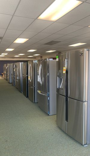 Refrigerator SALE! All new appliances in store! Samsung Whirlpool LG GE Frigidaire and more! NEW with warranty! for Sale in Torrance, CA