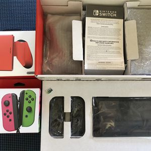 Nintendo Switch Console with Gray Joy- Plus More for Sale in Redlands, CA