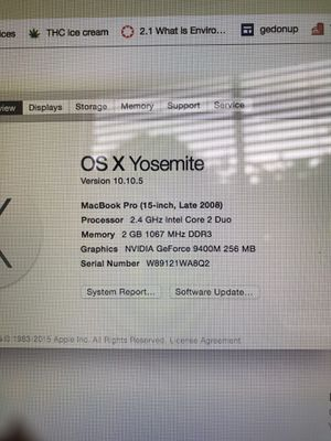 MacBook Pro for Sale in Alta Loma, CA