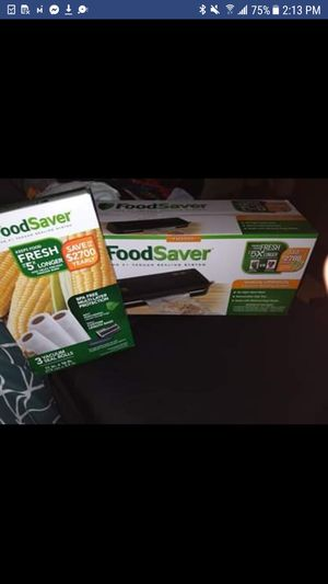 food saver and Bags Brand new still in the box for Sale in Englewood, CO