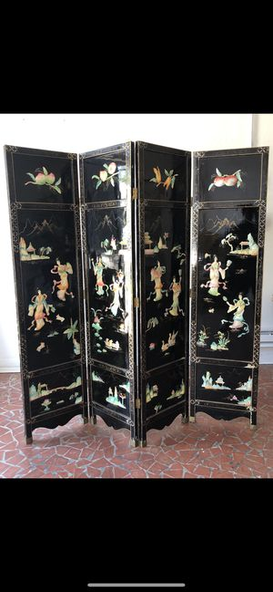 Vintage Asian 3D mother of pearl detail room dividers for Sale in East Point, GA