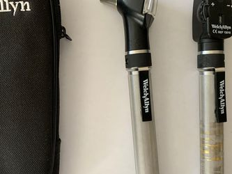 Welch Allyn 2.5 V Pocketscope Diagnostic Set - Otoscope / Ophthalmoscope w/ Case for Sale in New Rochelle,  NY
