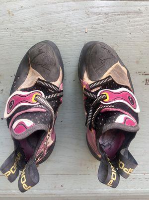 La Sportiva Solution climbing shoes for Sale for sale  San Antonio, TX