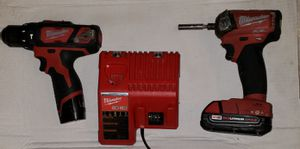 Milwaukee m12 hammer drill, m18 red FUEL impact for Sale in San Jose, CA