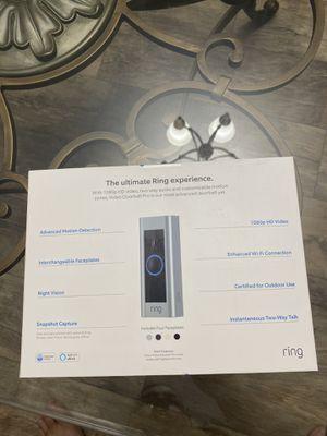 Ring doorbell Pro for Sale in San Antonio, TX