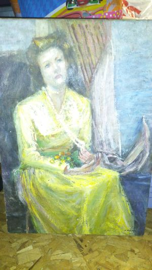 Antique painting by H.PIEPER for Sale in Fall River, MA