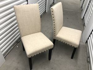 Brand new 2 dining chairs for Sale in Las Vegas, NV