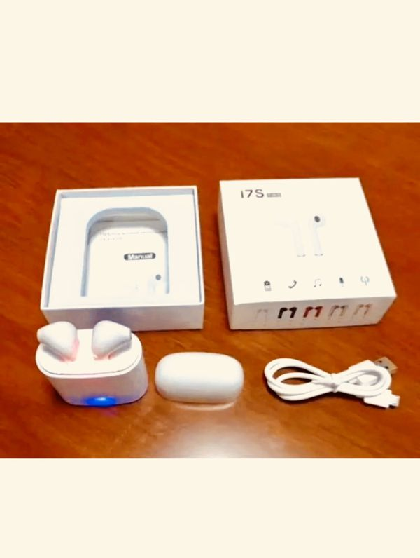 Wireless earbuds - headphones - white - AirPod style! New pickup in Elizabeth today