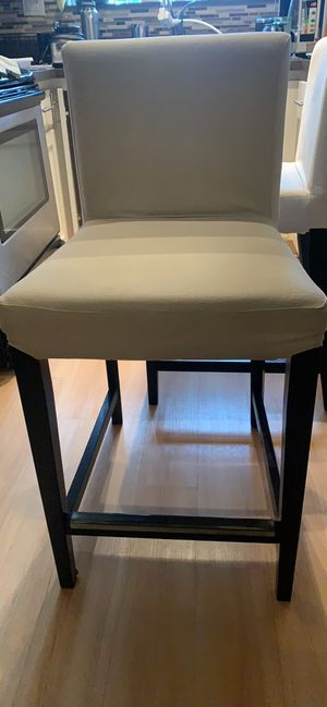 Barstool chairs removable / washable covers *2 for Sale in San Diego, CA