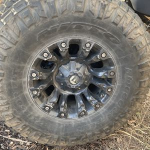"""37"""" Nittos On Jeep Wheels for Sale in Dartmouth, MA"""