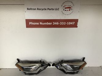 2014 2016 Toyota Corolla left and right headlight for Sale in Houston,  TX