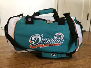 NFL Miami Dolphins duffle/ gym bag for Sale in Saint Paul, MN