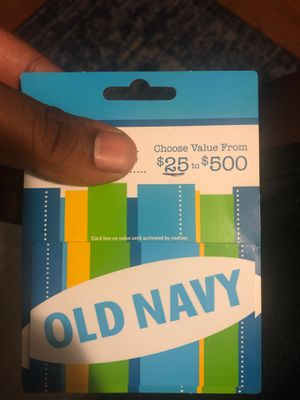 $25 OLD NAVY CARD for Sale in Richmond, VA
