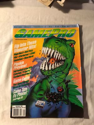 GamePro magazine rare September 1990 Monster Hits for Sale in Eau Claire, WI