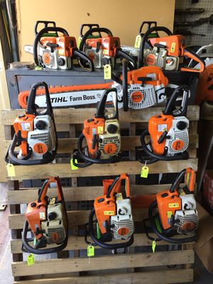 Gas Stihl Chainsaw Hurricane Sale going on now! (Ocean Isle NC) for Sale in Miami Gardens, FL