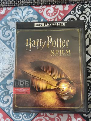 Harry Potter 8 film collection 4K Ultra HD for Sale in Lewis Center, OH