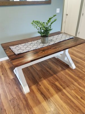 Rustic dining table for Sale in Hanford, CA