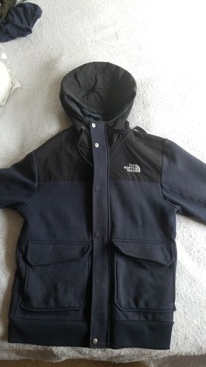 Northface hoodie/fleece navy blue black and white. for Sale in Hyattsville, MD