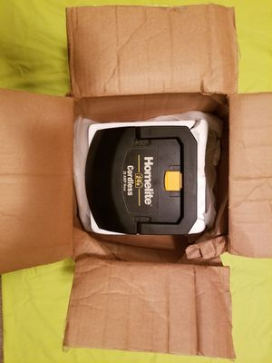 Brand New Homelite 24V Cordless Lawn Mower Battery for Sale in New Brunswick, NJ