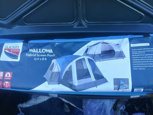 Camping tent brand new 8 person with a porch. for Sale in Seattle, WA