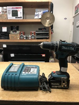 """Makita XPH10Z 18V LXT Lithium-Ion Cordless 1/2"""" Hammer Driver-Drill w/ Charger ...... for Sale in Baltimore, MD"""