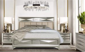 5 Pcs Queen Bedroom set, Stay Home Sale #newarrival for Sale in The Bronx, NY