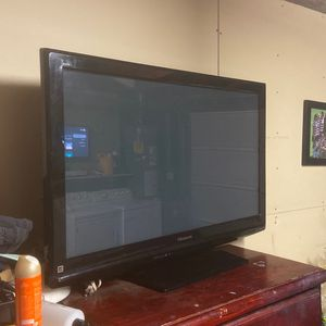 Panasonic 50 Inch Tv. No Remote Control. for Sale in Long Beach, CA
