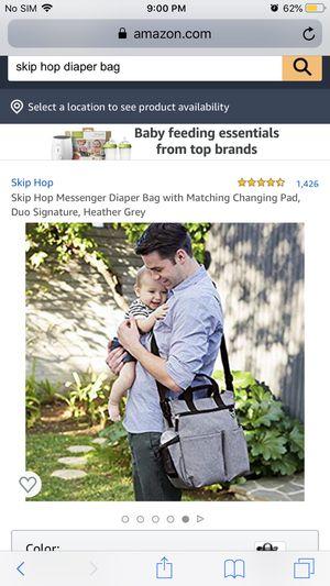 Skip hop diaper bag for Sale in Peoria, AZ