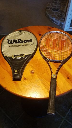 Wilson Titanium Tennis Racket for Sale in Tupelo, MS
