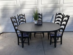 Dining Table and Chairs Kitchen Table for Sale in Auburn, CA