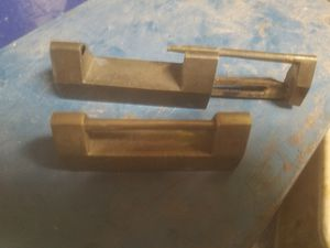 PRICE JUST REDUCED TO $5.99. Vintage 2 key hiding boxes from 1920 era, desk lamp with wick for lighting fluid for Sale in Glendale, AZ